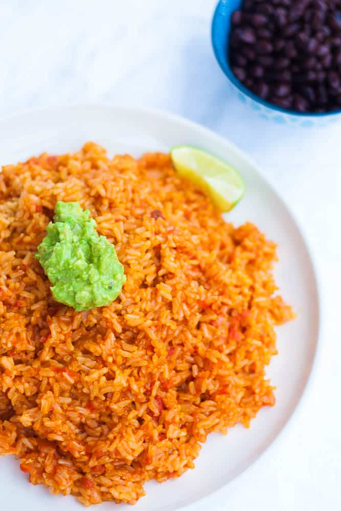 V/GF Instant Pot Spanish Rice