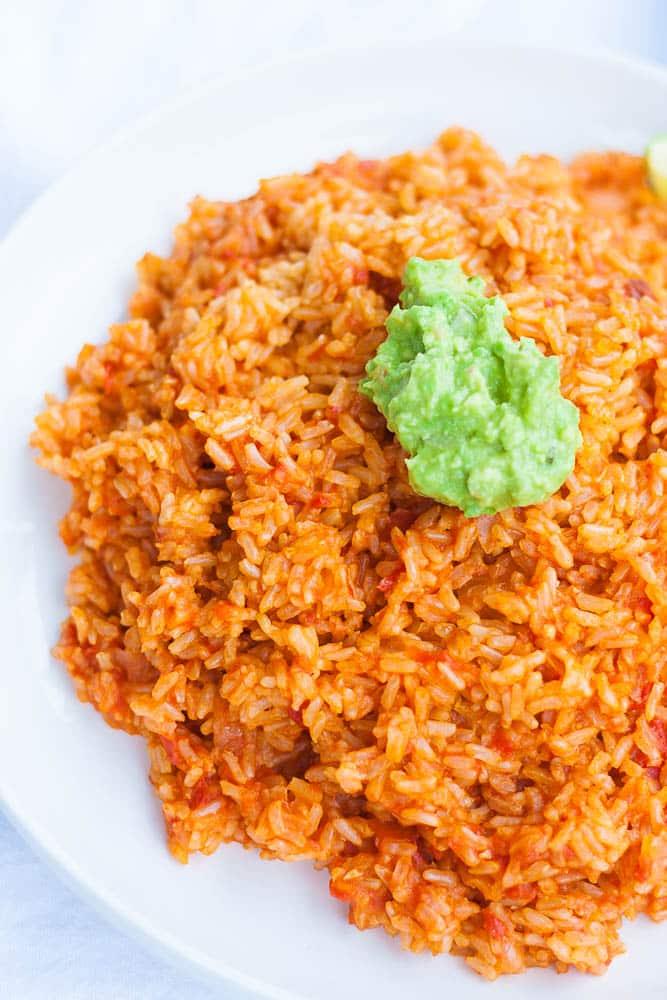 V/GF Instant Pot Spanish Rice
